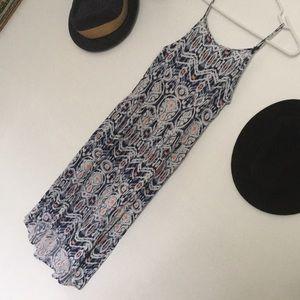 🦚 H&M ikat dress
